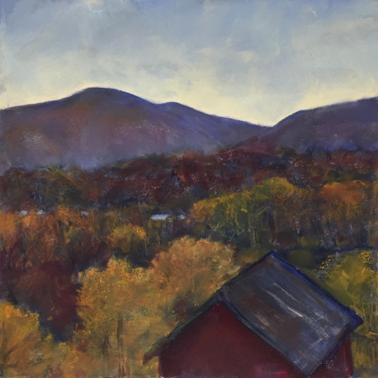 Daisy Craddock - Barn in Autumn