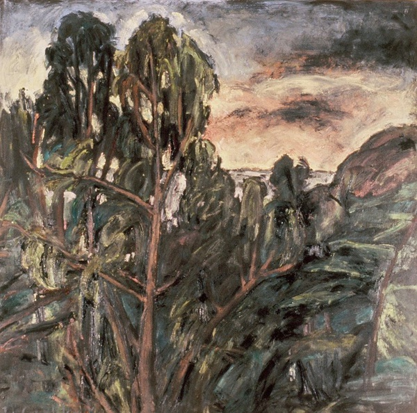 Daisy Craddock - Eucalyptus at the Reservoir